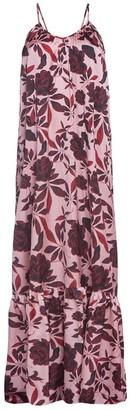Cliché Reborn Desert Rose Backless Spaghetti Strap Maxi Dress