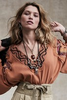 Free People Antique Coin Necklace by Spirit Sarai at Free People, Silver, One Size