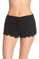 Women's Surf Gypsy Crochet Cover-Up Shorts