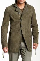 John Varvatos Suede Coat