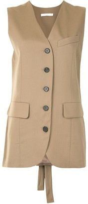 Low Classic Tied Back Waistcoat