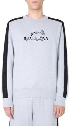 Dolce & Gabbana Logo Print Crewneck Sweatshirt