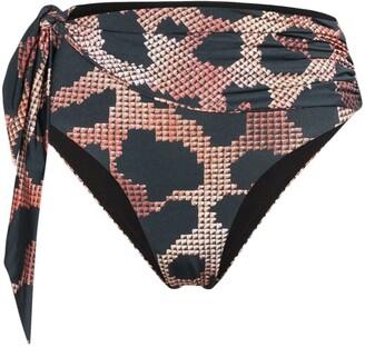 Agent Provocateur Hester leopard print bikini bottoms