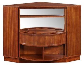 Winston Porter Studley Rotating Corner Bar Cabinet Winston Porter