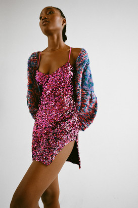 For Love & Lemons Showtime Sequin Mini Dress