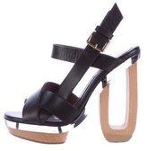 Marni Leather Multistrap Sandals