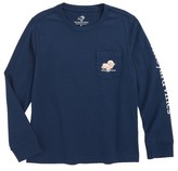 Vineyard Vines Toddler Boy's Turkey Whale Pocket T-Shirt