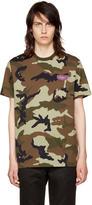 Givenchy Khaki Camouflage T-shirt