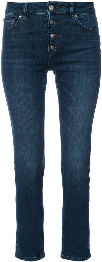 Anine Bing high waisted skinny jeans