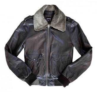 Schott Brown Leather Leather jackets