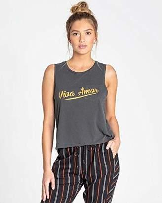 Billabong Women's Viva Amor Muscle T-Shirt
