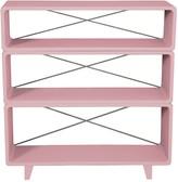 Laurette Bookcase 'Millefeuille' - Taupe