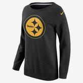Nike Championship Drive Boyfriend Crew (NFL Steelers) Women's Sweatshirt