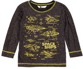 Petit Lem Boys 2-7 Galactic Graphic Sweater