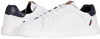 Ben Sherman Ollie Trainer (White/Navy) Men's Shoes
