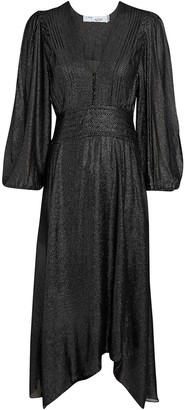 IRO Joucque Chiffon Midi Dress