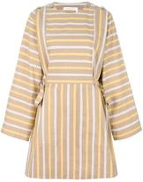See by Chloe striped dress - women - Cotton - 36