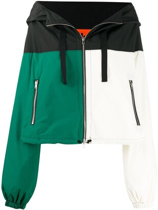 colville Colour-Block Hooded Jacket