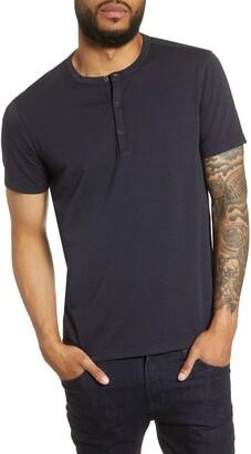 John Varvatos Regular Fit Henley T-Shirt