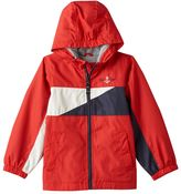 London Fog Toddler Boy Colorblocked Jersey-Lined Hooded Jacket