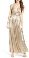 LuLu*s Women's Metallic Maxi Dress