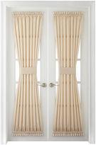 Royal Velvet Plaza Thermal Interlined Rod-Pocket Door Panel