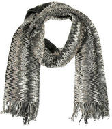 Missoni Abstract Fringe Scarf