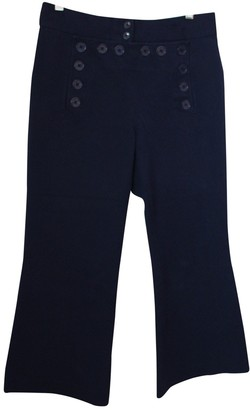 Michael Kors Blue Cloth Trousers for Women