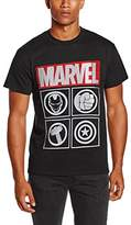 Marvel Men's Avengers Icon T-Shirt
