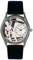 Whimsical Watches Women's S0610016 Orthopedics Black Leather Watch