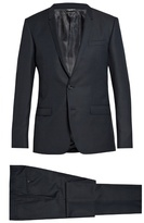 Dolce & Gabbana Gold-fit Wool Suit