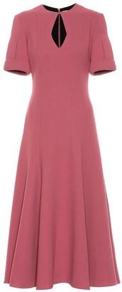 Emilia Wickstead Ludovica wool crApe dress