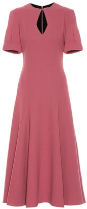 Emilia Wickstead Ludovica wool crepe dress