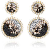 Shourouk Spheyra Jet Earrings