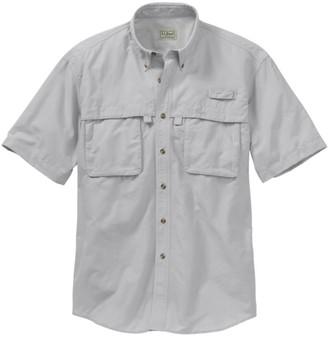 L.L. Bean Men's Tropicwear Shirt, Short-Sleeve