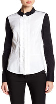 Karen Millen Colorblock Signature Shirt