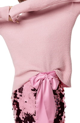 J.Crew New High/Low Waffle Sweater