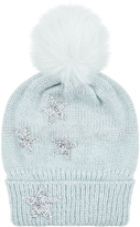 Monsoon Lunar Star Sparkle Beanie Hat