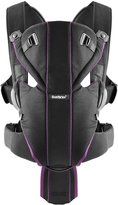 BABYBJÖRN Miracle Baby Carrier - Black/Purple - One Size