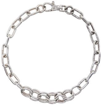 Martine Ali SSENSE Exclusive Silver Ashbury Choker