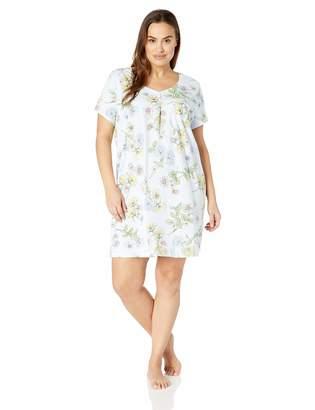 Karen Neuburger Women's Short Sleeve Sleepdress Pajama PJ