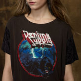 Denim & Supply Ralph Lauren Burn-Out Jersey Graphic Tee