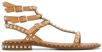 Ash studded leather gladiator sandals