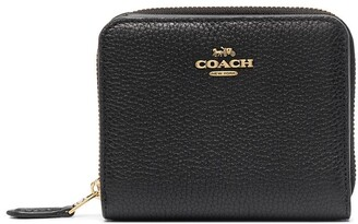 Coach Pebbled-Effect Leather Wallet