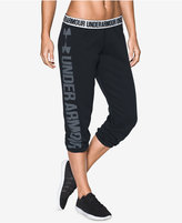 Under Armour Favorite Fleece Capri Pants