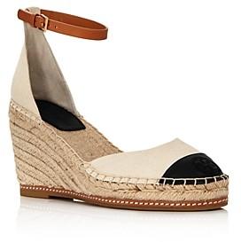 Tory Burch Women's Color Block Wedge Espadrille Sandals