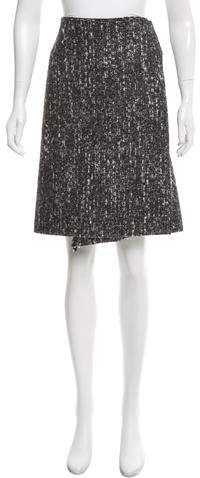 Calvin Klein Collection Mélange Wrap Skirt w/ Tags