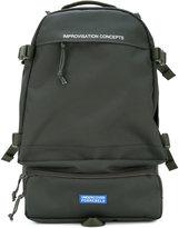 Undercover zip backpack - men - Nylon/Polyester/Polypropylene/Brass - One Size