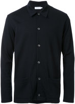 Sunspel patch pockets cardigan - men - Merino - S