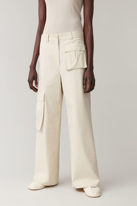 Cos Cotton Cargo Pants